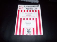Fleetwood Freeport v Chadderton, 1998/99